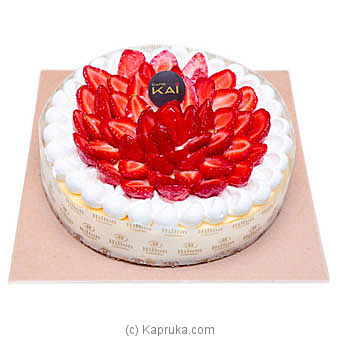 Hilton Cheesecake With Fruit Topping With Cherry Online at Kapruka | Product# cakeHTN00177
