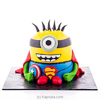 Superman Minion Online at Kapruka | Product# cake00KA00686