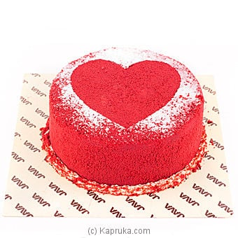 Java `pure Love` Red Velvet Cake Online at Kapruka | Product# cakeJAVA00100