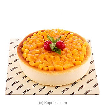 Java Peach Cheese Cake Online at Kapruka | Product# cakeJAVA0098
