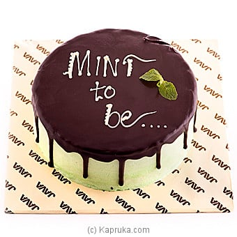 Java Meant To Be Chocolate Mint Cake Online at Kapruka | Product# cakeJAVA00107