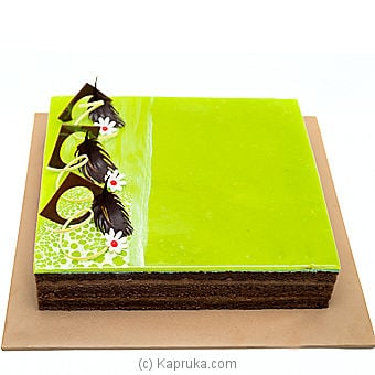 Lemon Sacher Layer Cake Online at Kapruka | Product# cakeTA00149