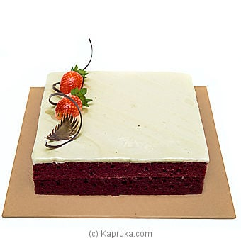 Cinnamon Lakeside Red Velvet Online at Kapruka | Product# cakeTA00148