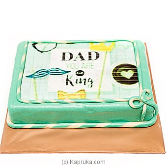 Kingsbury ` Dad You Are The King` Cake Online at Kapruka | Product# cakeKB00165