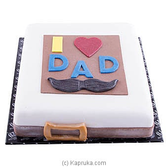 Waters Edge Father`s Day Cake Online at Kapruka   Product# cakeWE00102
