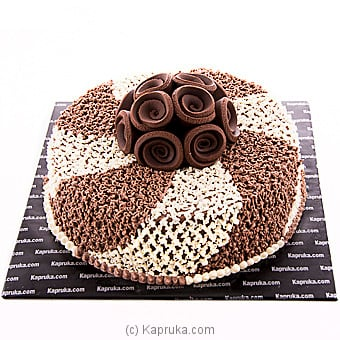 Butter Cream Chocolate Cake Online at Kapruka | Product# cake00KA00781