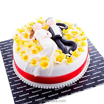 Together And Forever Ribbon Cake at Kapruka Online for cakes
