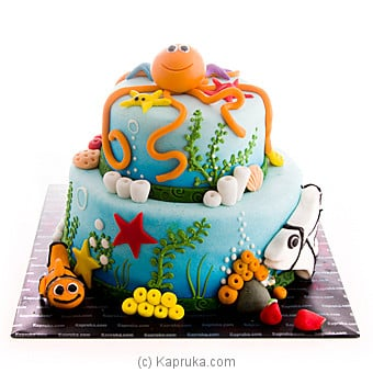 Octopus Garden Ribbon Cake at Kapruka Online for cakes