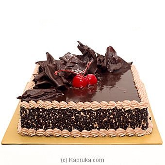 Chocolate And Butter Cake Online at Kapruka   Product# cakeKB00168