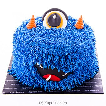 Blue Monster Cake at Kapruka Online for cakes