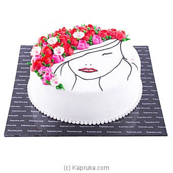 Queen Of My World Online at Kapruka | Product# cake00KA00879