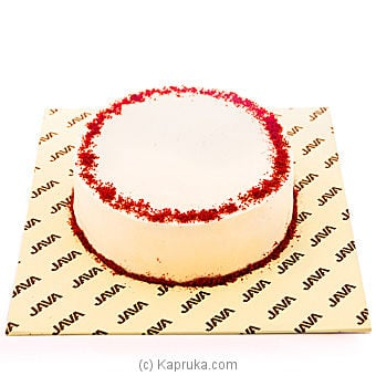 Red Velvet Cheese Cake Online at Kapruka | Product# cakeJAVA00127