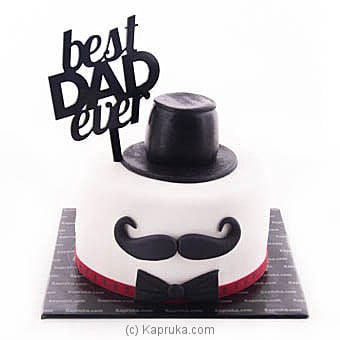 Best Dad Ever Online at Kapruka | Product# cake00KA00907