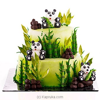 My Little Panda Ribbon Cake Online at Kapruka | Product# cake00KA00923