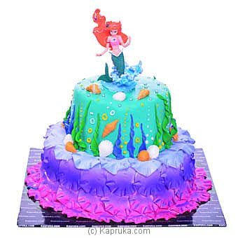 Princess Mermaid Cake Online at Kapruka | Product# cake00KA00929