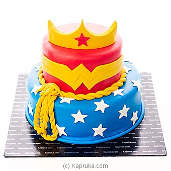 Wonder Woman Online at Kapruka | Product# cake00KA00989