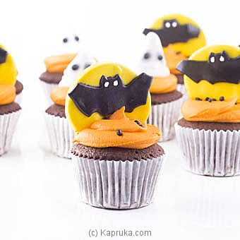Halloween Parade Cup Cakes -12 Pieces Online at Kapruka | Product# cake00KA00973