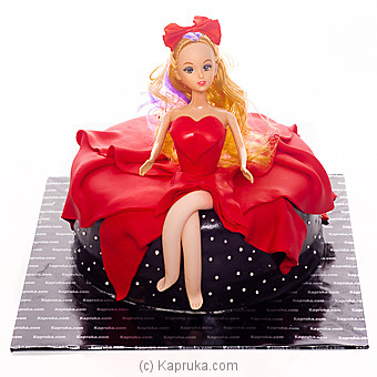 Dazzling Barbie Online at Kapruka | Product# cake00KA00975