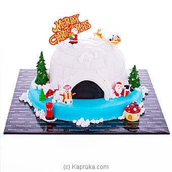 Sleigh Bells With Santa Online at Kapruka | Product# cake00KA00998