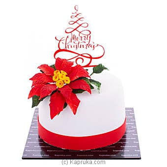 Blooming Christmas at Kapruka Online for cakes