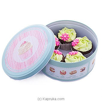 Heavenly Blend 5 Piece Chocolate Cup Cakes Online at Kapruka | Product# cake00KA001027