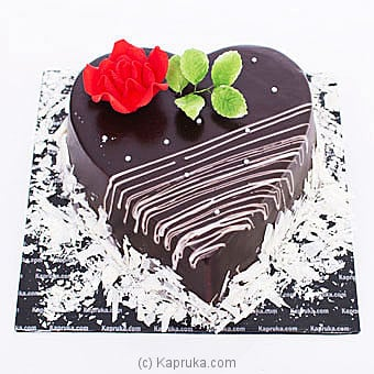 Loyal Rose Chocolate Cake Online at Kapruka | Product# cake00KA001062
