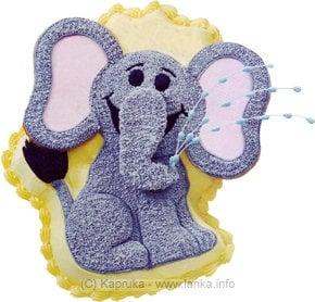 Fab - Elephant's Birthday Blowout Online at Kapruka | Product# shapefab014
