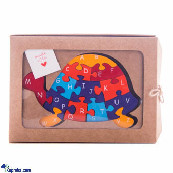 Tortoise Wooden Animal Puzzle Educational Toy at Kapruka Online for cross_border
