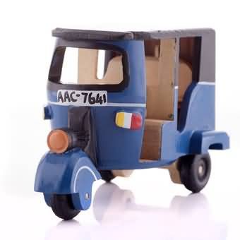 Wooden Three Wheel Toy (Blue) at Kapruka Online for cross_border