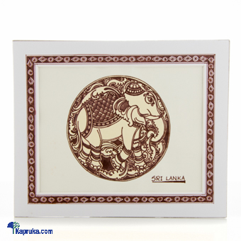Elephant Decorated With Pen - Brownat Kapruka Online forcross_border