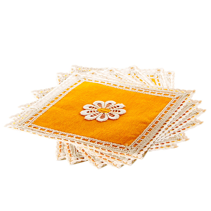 Handwoven Small Place Mat Stain Resistant Washable Table Mat Set Of 6 Online at Kapruka | Product# CBhand00007