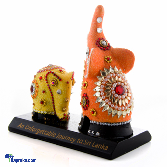 Mother And Baby Elephant Statue Online at Kapruka | Product# CBornmnt00008