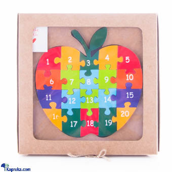 Apple Number Puzzle Educational Gift Toy Online at Kapruka | Product# CBtoys00006