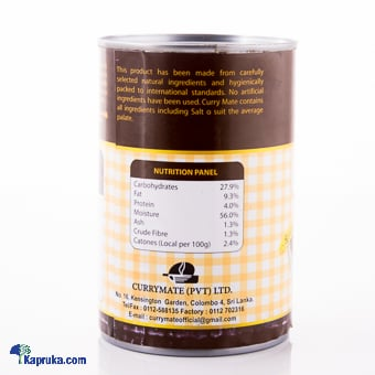 Kapruka Online Shopping Product Currymate Polos Curry 400g