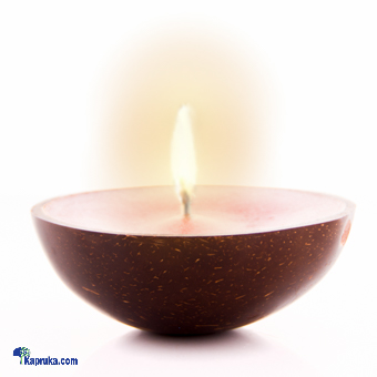 Kapruka Online Shopping Product Scented Candle In Coconut Shell