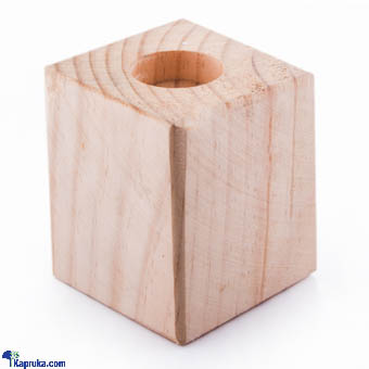 Kapruka Online Shopping Product Wooden Candle Holder