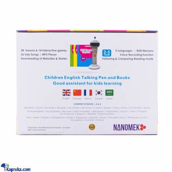 Kapruka Online Shopping Product Nanopen Powerful Tool For Preschool English Education - Read Out Wherever You Touch