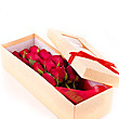 Dozen Red Roses In Recycled Paper Box at Kapruka Online