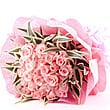 20 Pink Pearl Roses Bunch at Kapruka Online