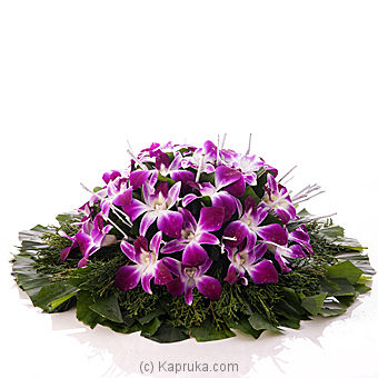 Orchid Coffin Wreath at Kapruka Online for flowers