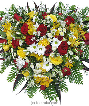 Crescent Of Condolence at Kapruka Online for flowers