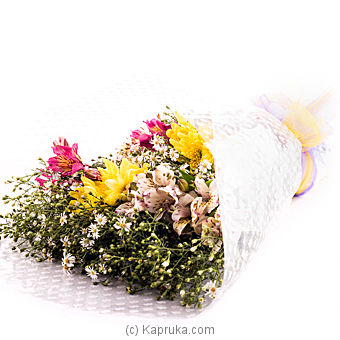 Floral Delight Mixed Flower bouquet at Kapruka Online for flowers