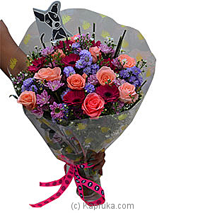 Embark Purple Bouquet at Kapruka Online for flowers