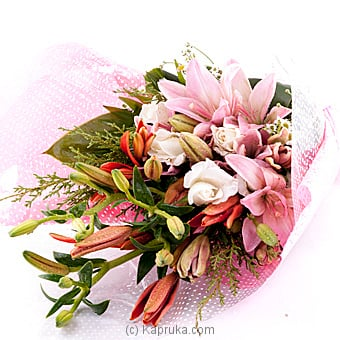 Bunch Of Lilies flower bouquet By Flower Republic at Kapruka Online forflowers