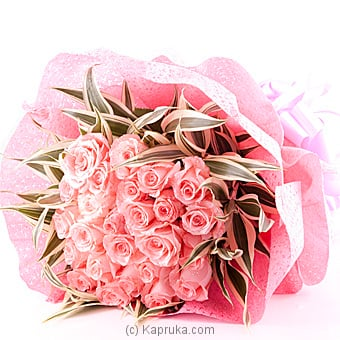 20 Pink Pearl Roses flower bouquet at Kapruka Online for flowers