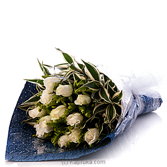 White Grace Boquet at Kapruka Online for flowers