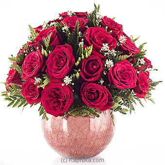 Rich And Red Blooms Of Love By Flower Republic at Kapruka Online forflowers