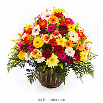 Basket Of Gerberas at Kapruka Online for flowers