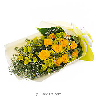 Golden Blessings By Flower Republic at Kapruka Online forflowers