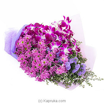 Purple Romance By Flower Republic at Kapruka Online forflowers